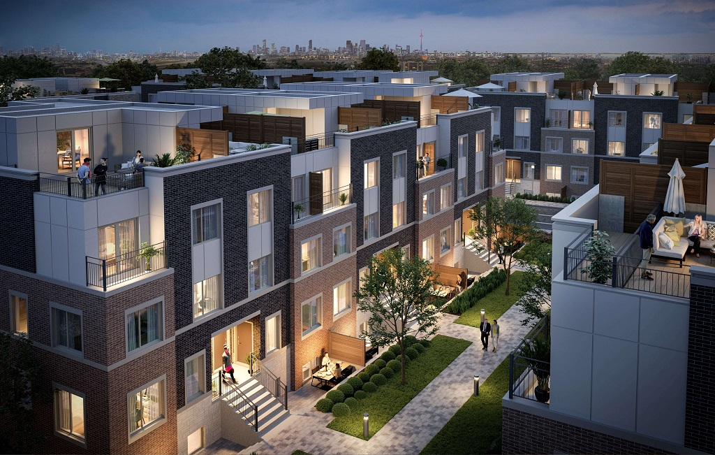 THE ONLY NEW TOWNHOME PROJECT BY THE SUBWAY IN THE GTA